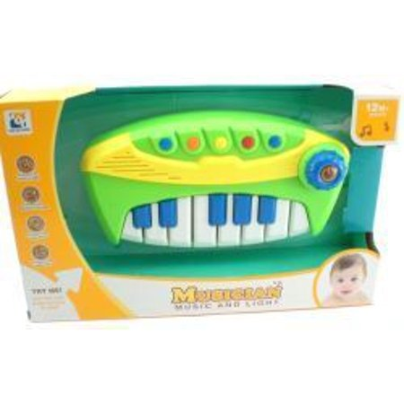 Baby Piano Organ Music Toy Electric Light And Sound Toy (Doll Piano)