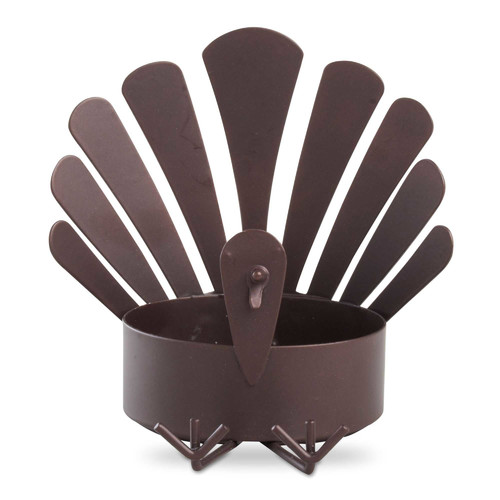 TAG Sitting Turkey Metal Dish