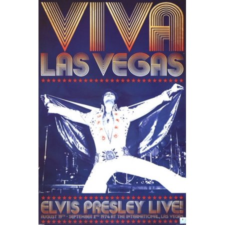 Elvis Presley - Viva Las Vegas Poster Poster Print