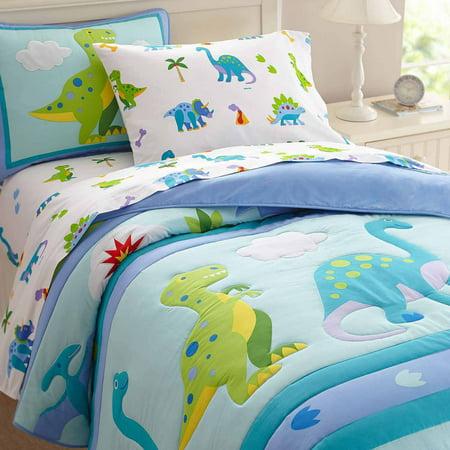 Olive Kids Dinosaur Land Bedding Comforter Set Walmart Com