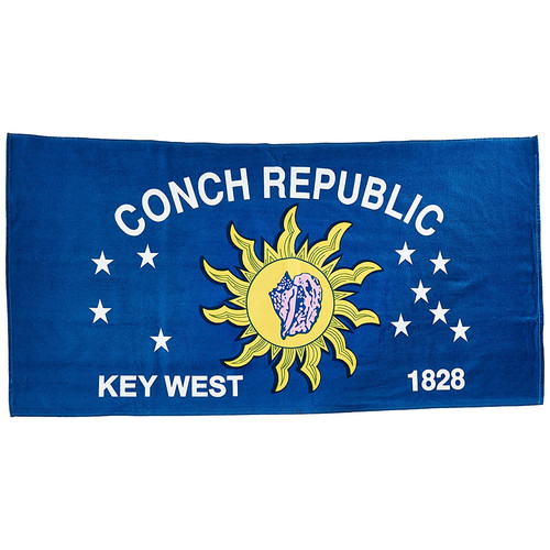 Kaufman Sales Conch Republic 100pct Cotton Beach Towel