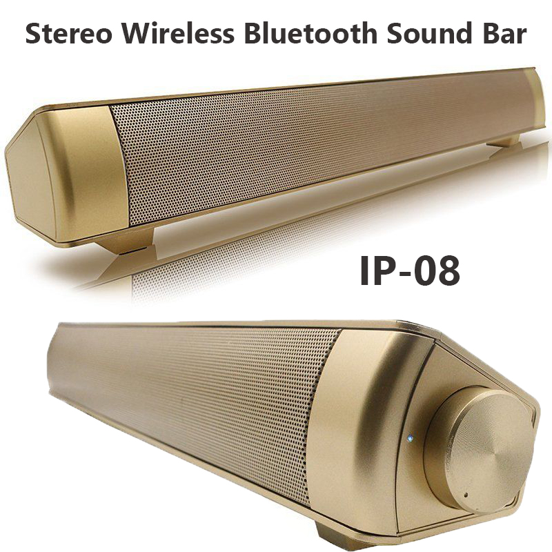 [2018 Upgraded] Wired and Wireless Computer Speakers, Mini 10W USB Powered Multifunctional Home Theater Soundbar Speaker for Smartphone PC Desktop Laptop Tablets Projector and Wireless Devices