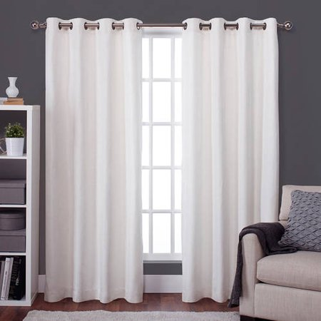 Exclusive home raw silk thermal window curtain panel pair for Thermal windows prices