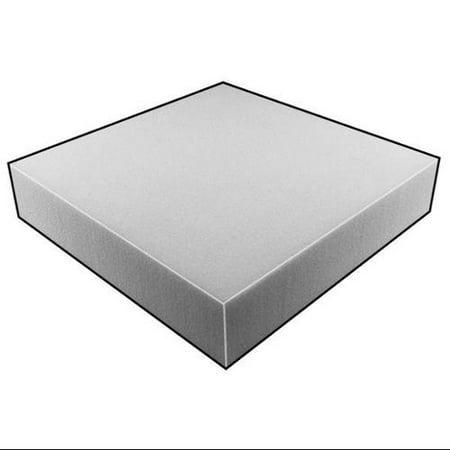 5GCY5 Foam Sheet, 80280Poly, Natural, 1 1/2x24x24
