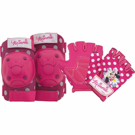 Huffy Minnie Mouse Kickscooter Amp Safety Gear Bundle