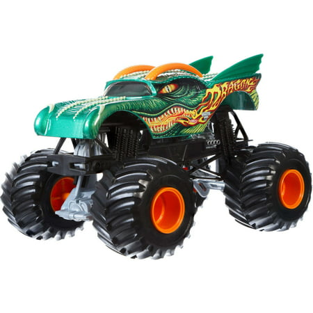 Hot Wheels Monster Jam Dragon (Dragon Vehicle)