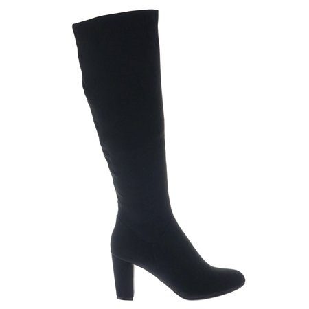 professional design more photos top-rated real Daystar06 by Bamboo, Block Heel Dressy Knee High Boots w Almond Toe