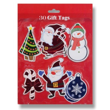 Metallic Christmas Gift Tags](Personalized Halloween Gift Tags)