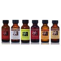 Bakto Flavors Natural Flavors Soda Stream Collection Version 4-6 (1 FL OZ) Bottles - Passionfruit, Blood orange, Coconut, Raspberry, Pineapple, Mango …