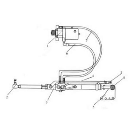 New Massey Ferguson Power Steering Conversion Kit MF 165