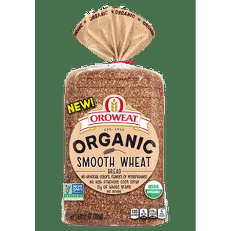 Arnld Brwnbry Orowet Oroweat Organic Smooth Wheat Bread