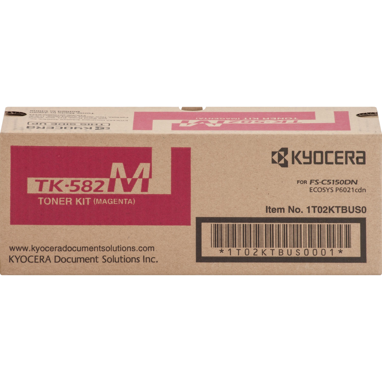 Kyocera Mita TK582M Magenta Toner Cartridge High Yield