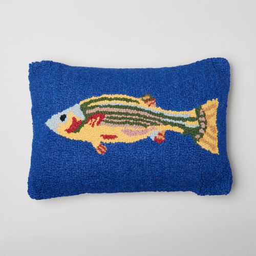 Amity Home Fish Wool Throw Pillow