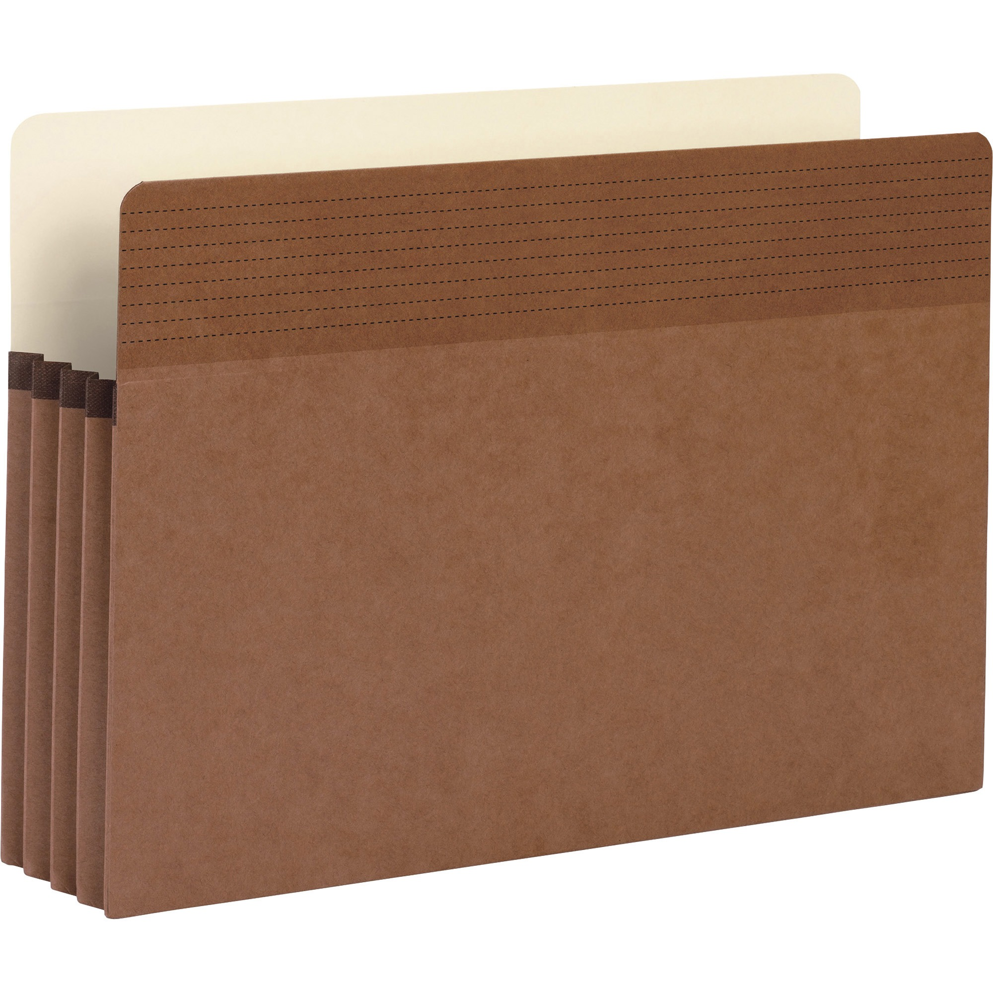 Business Source, BSN65794, Redrope Legal Expanding File Pockets, 25 / Box, Redrope