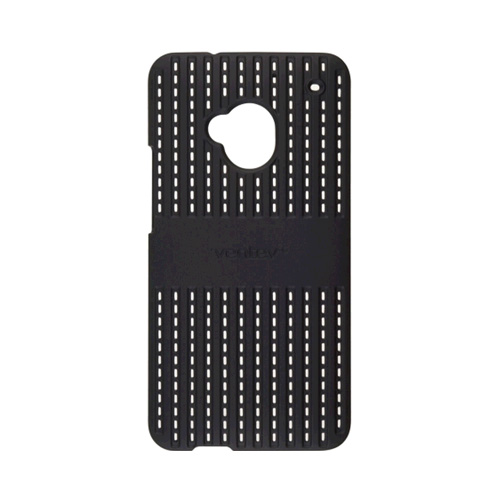 Ventev Colorclick Air Case for HTC One - Black
