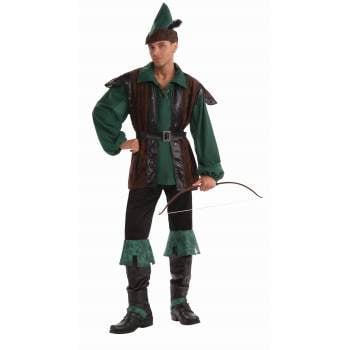 Mens Classic Robin Hood Halloween Costume - Robin Hood Boys Costume
