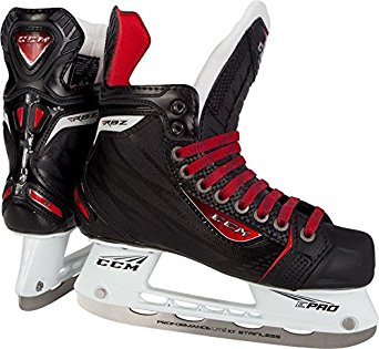 New CCM RBZ SK80 Junior 3.5 D Black Red Ice Hockey Skates by CCM