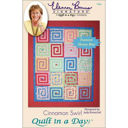 Eleanor Burns Patterns-Cinnamon Swirl Brown Jersey Clute Pattern