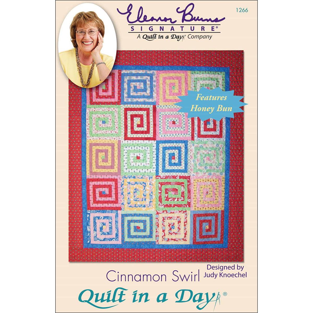 Eleanor Burns Patterns-Cinnamon Swirl