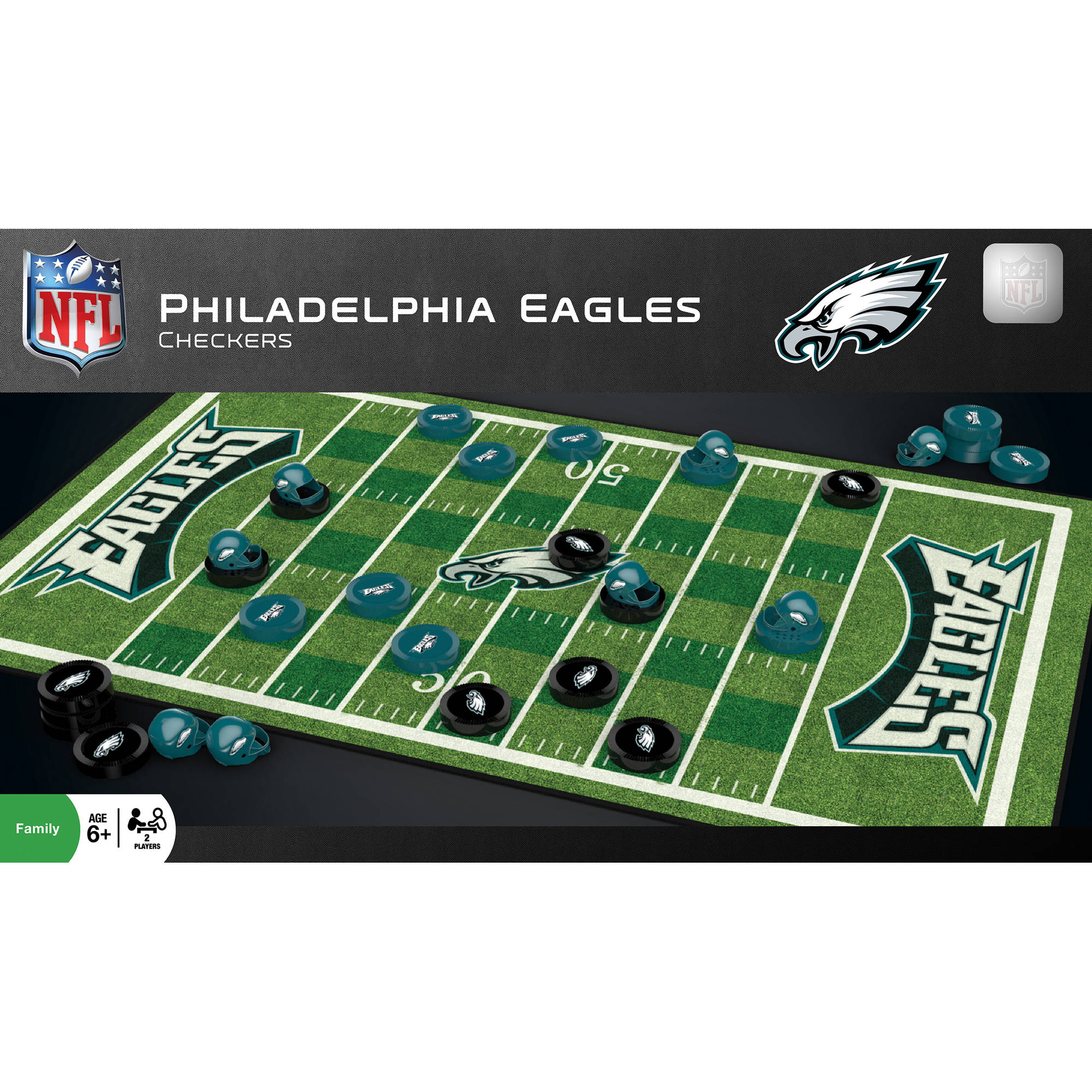 Masterpieces 41535 Philadephia Eagles Checkers Puzzle by Generic