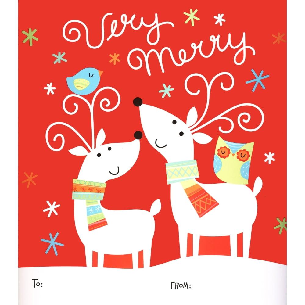 Reindeer Very Merry Wrapper, Calendar Wrappers by Calendar Ink