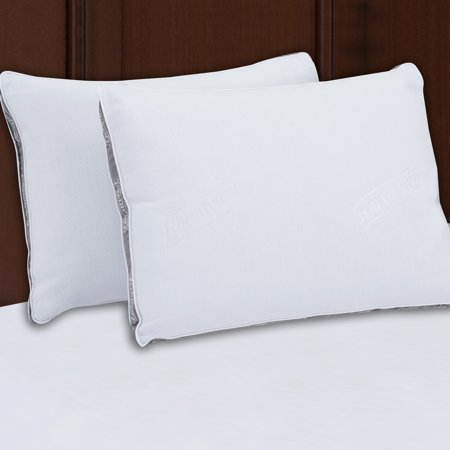 Beautyrest Silver Luxurious Spa Comfort Pillow Set of 2,Multiple Sizes ()