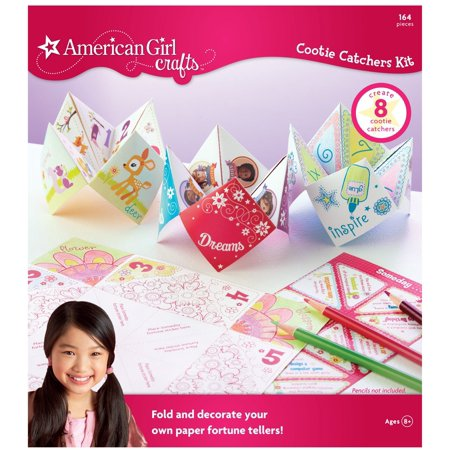 Halloween Cootie Catchers (Cootie Catcher Kit, Created by folding pretty papers stickers By American Girl)