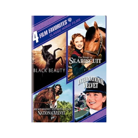 4 Film Favorites: Classic Horse Films (DVD) - Classic Halloween Stories