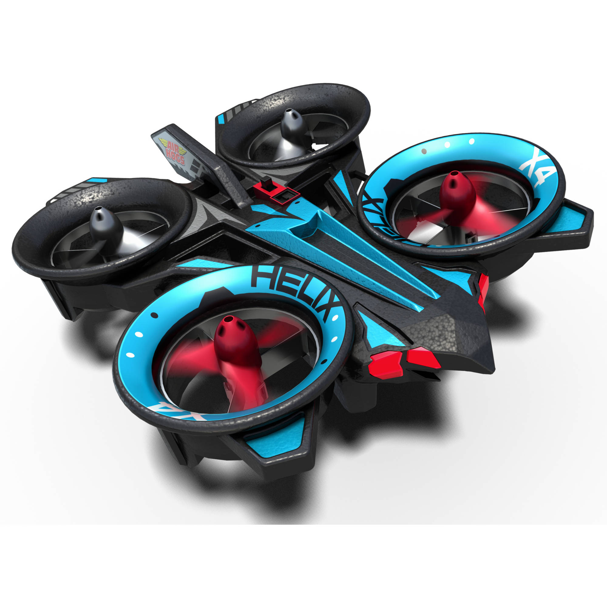 Air Hogs RC Helix X4 Stunt 2.4 GHZ Quad Copter, Blue and Red