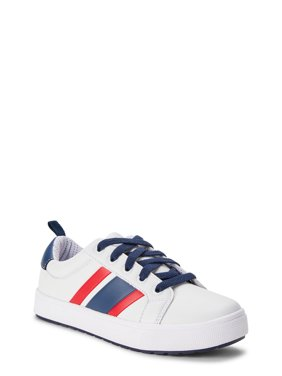 Wonder Nation Striped Casual Court Shoe (Little Boys & Big Boys)
