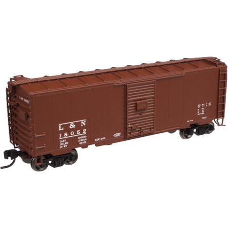 SP Whistle Stop ATM50000949 N Scale Master 40 ft. PS-1 Box Car B&M - No. 75340