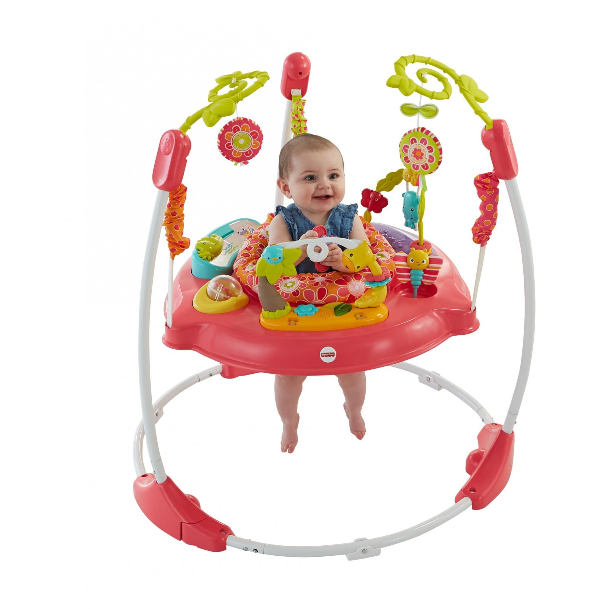 Fisher Price Pink Petals Jumperoo by Fisher-Price