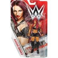 WWE Wrestling Series 69 Sasha Banks Action Figure