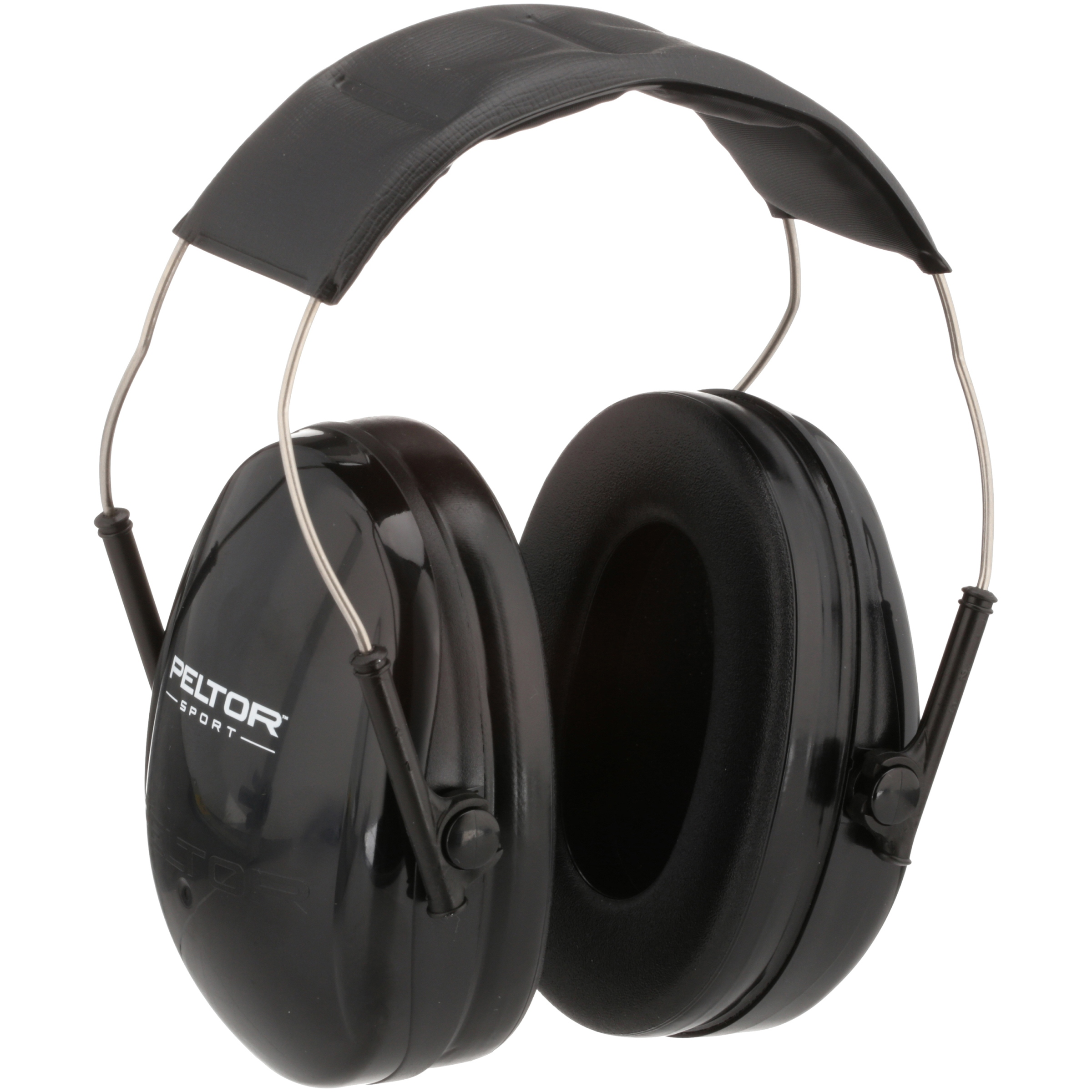 Peltor Junior Earmuff, Black, 1/pack