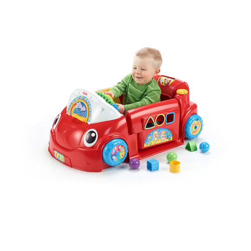 Fisher-Price Laugh & Learn Smart Stages Crawl Around Car - Walmart.com