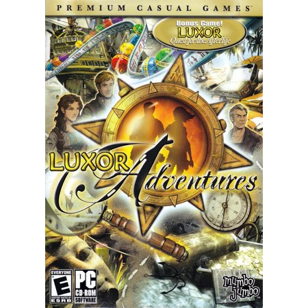 Luxor Adventures plus Quest for the Afterlife (Hidden Object PC Games) - New Halloween Hidden Object Games