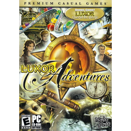 Luxor Adventures plus Quest for the Afterlife (Hidden Object PC Games)