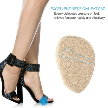 HURRISE 2 Pairs Anti-slip Ball of Foot Cushions for Women's High Heel Cushions and Comfort Size - image 6 of 8