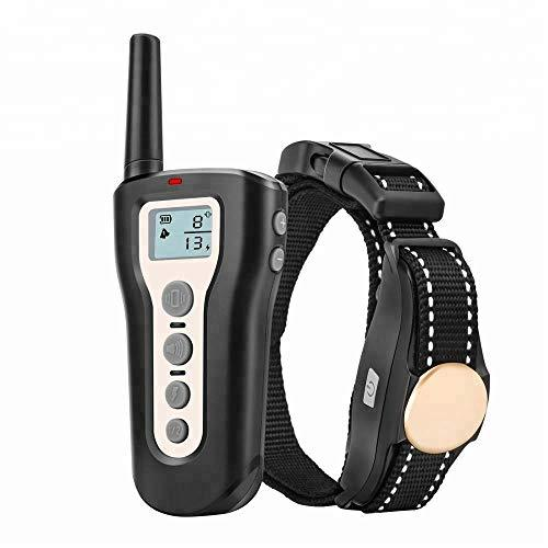 Dog Shock Collar Remote Waterproof Electric For Large Pet Training 1000 Meters