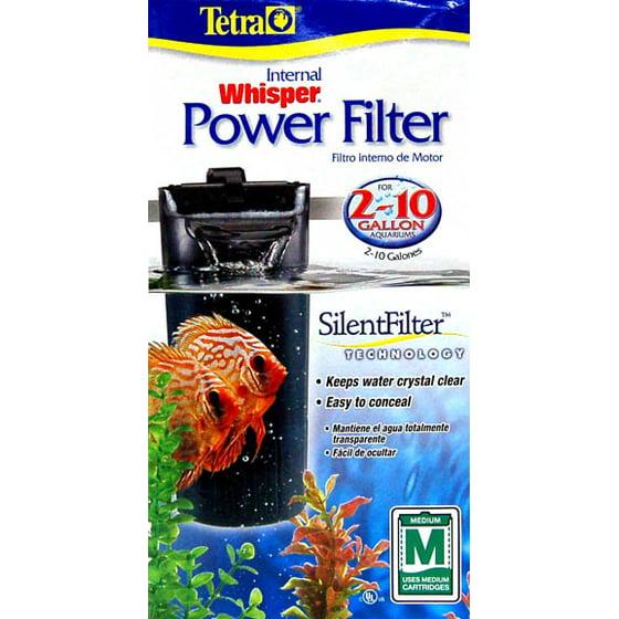 Tetra Whisper 2-10 Inch Depth Power Filter For Aquariums New Fish & Aquariums Pet Supplies