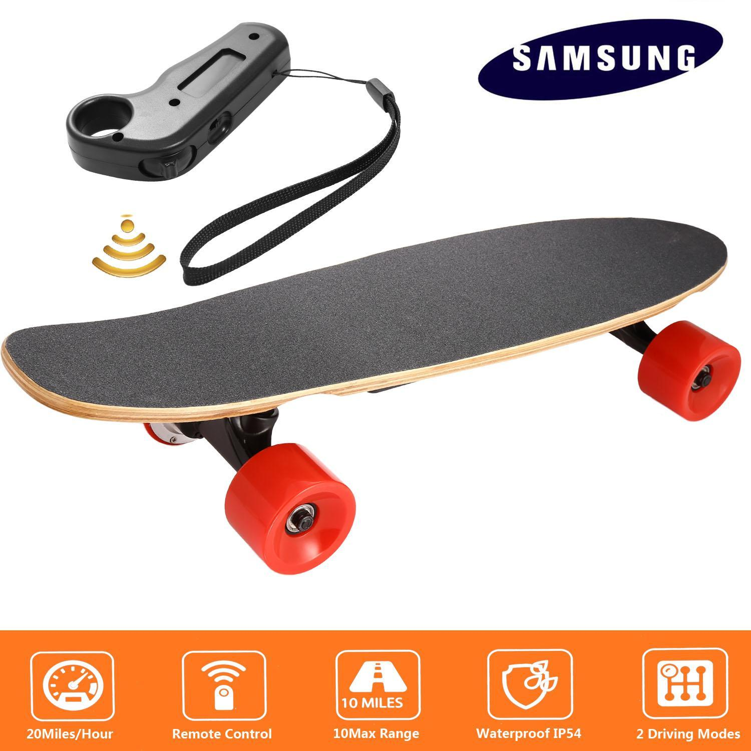 Professional 26 Inch Long 350W Electric Skateboard Peny Board with Remote Controller for Adults Youth US STOCK by