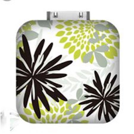 Triple C Designs Glam Power Mate Plus Portable Backup Battery for iPhone 3GS/4/4S Forest