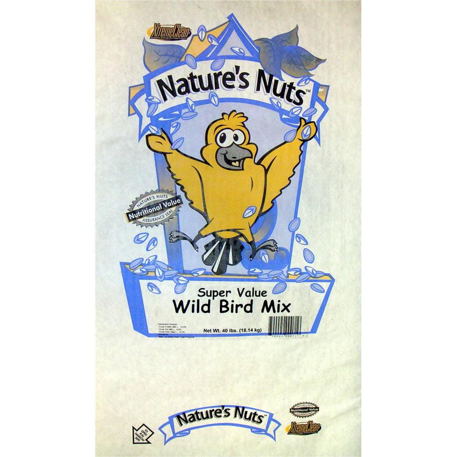 Natures Nuts 00071 40 Lbs Super Value Wild Bird Diet