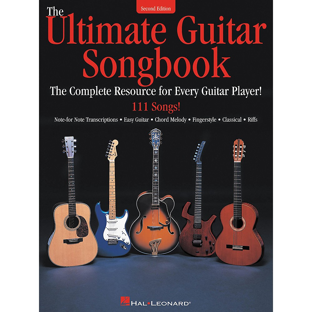 Hal Leonard The Ultimate Guitar Tab Songbook 2nd Edition