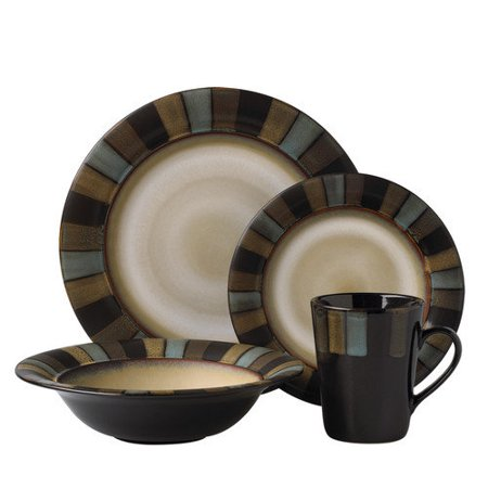 Pfaltzgraff Everyday Cayman 16 Piece Dinnerware Set - Walmart.com