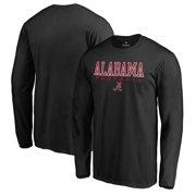 Alabama Crimson Tide Fanatics Branded True Sport Football Long Sleeve T-Shirt - Black