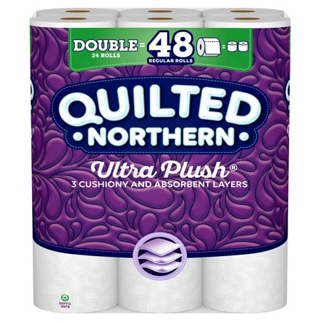 Quilted Northern Ultra Plush Toilet Paper, 24 Double Rolls (Toilet Paper Northern)