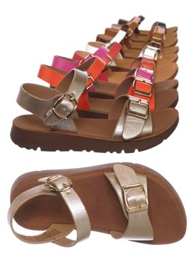Reform9KA by Flourish, Baby Toddler Comfort Flat Sandal - Unisex Infant Size Open Toe Shoe