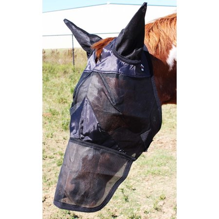 Equine Horse Fly Mask Summer Spring Airflow Mesh UV Mosquitoes  73288