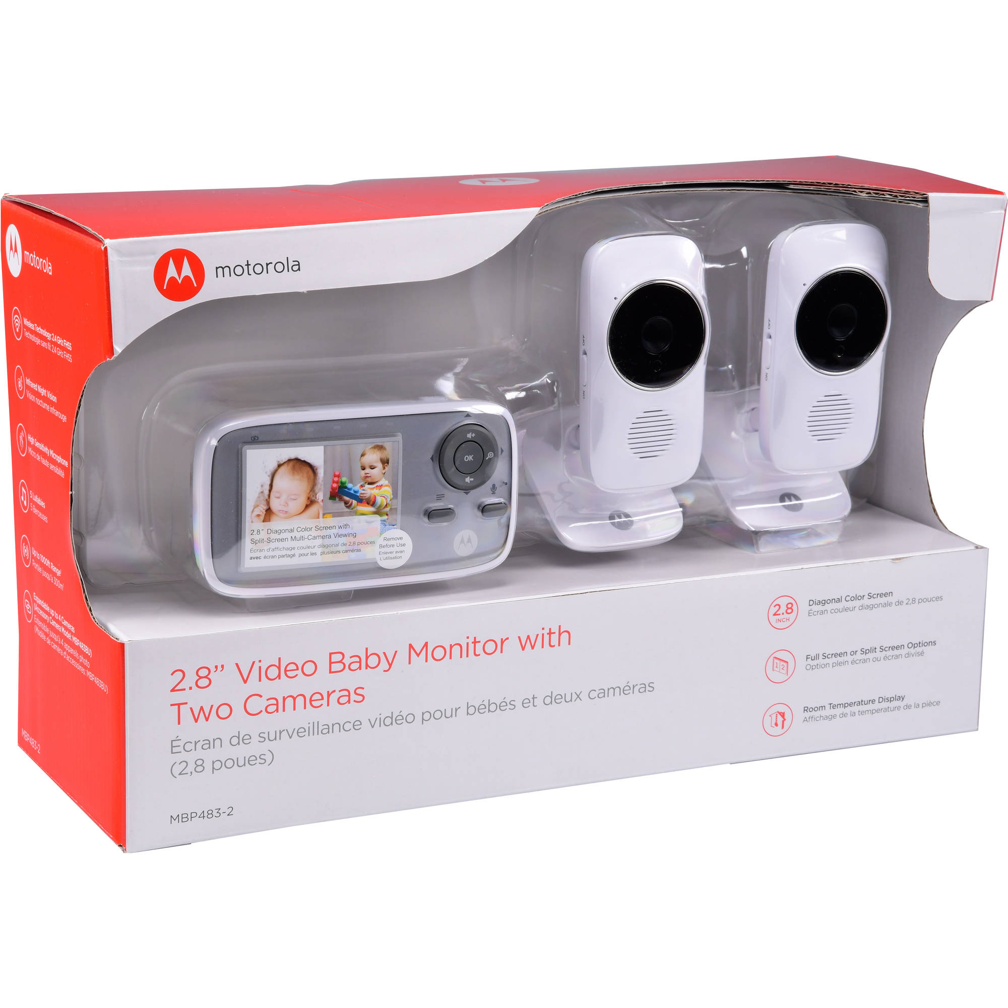 Two-Way Talk Video Baby Monitor Motorola MB483